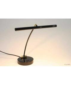 Lampe LED pour piano noir brillant