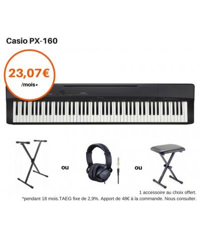 CASIO PX-160 Pack Avantage
