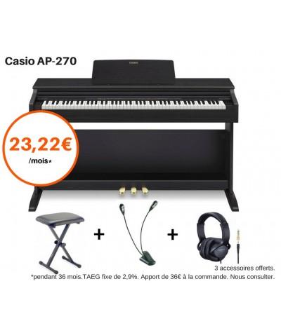 CASIO AP-270 Pack Tout inclus