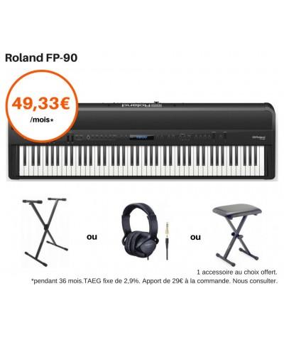 ROLAND FP 90 NOIR