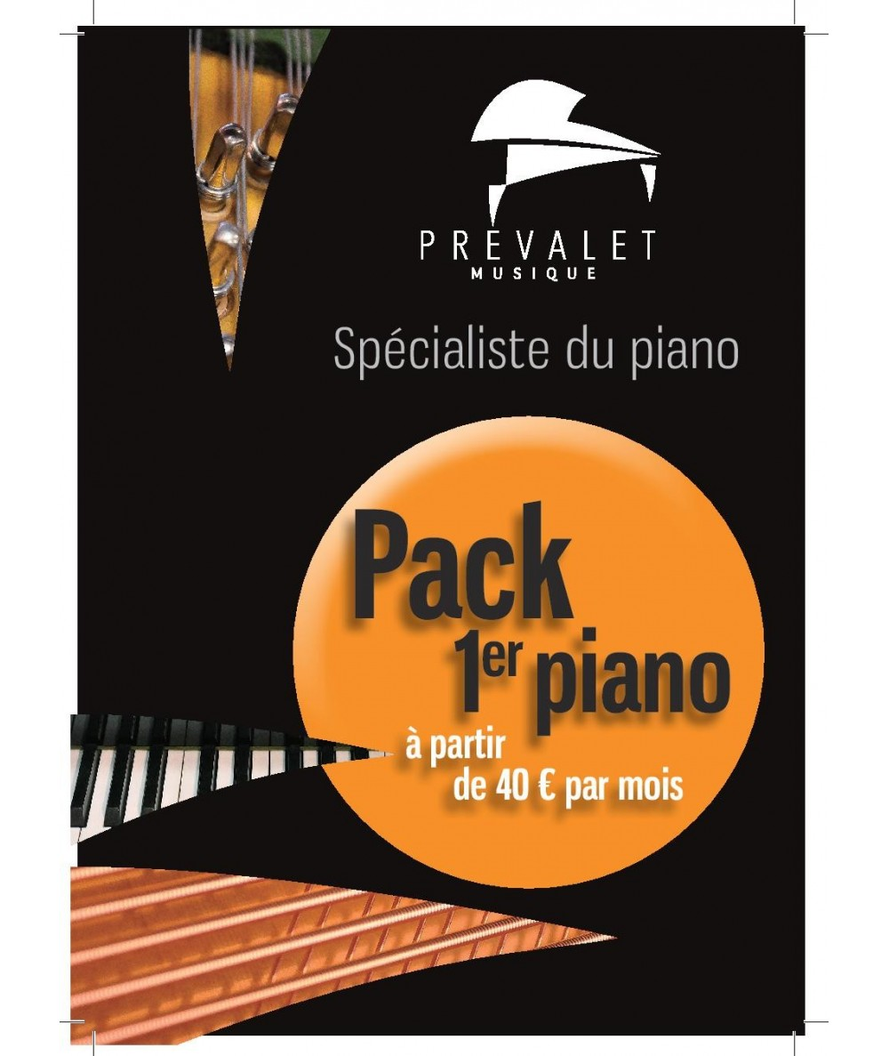Pack 1er piano