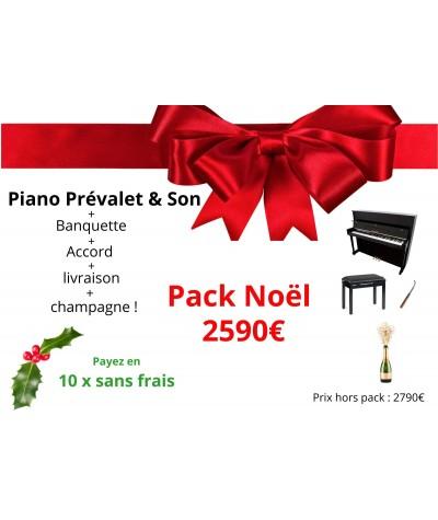 Pack Noël : piano PREVALET...