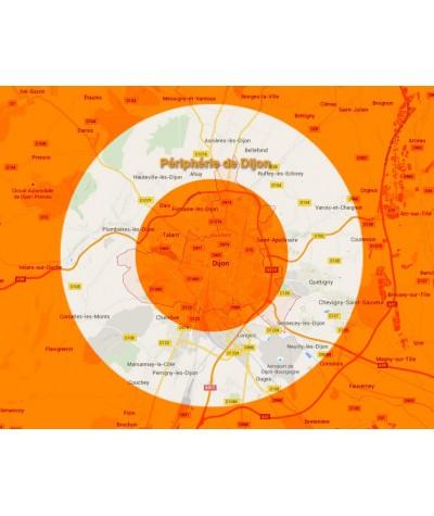 Accord en périphérie de Dijon