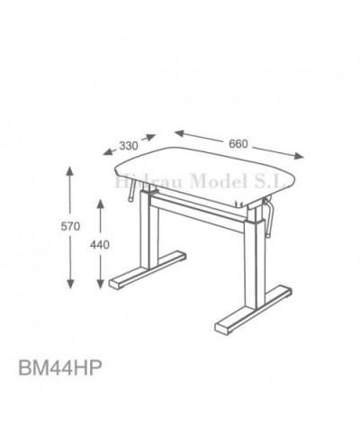 Banquette hydraulique  BM44HP