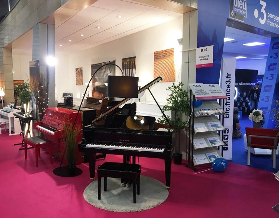 Stand Prévalet Musique à la foire de Dijon